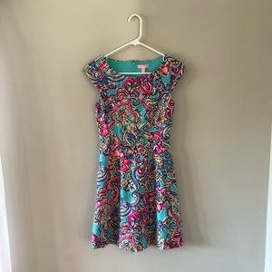 Lilly Pulitzer Dresses - Lilly Pulitzer Briella Dress Bait and Switch Print
